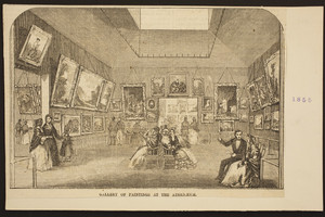 Gallery of Paintings at the Athenaeum