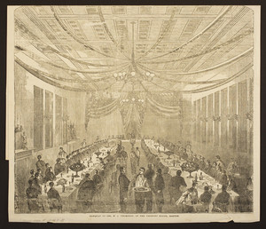Banquet to Col. N. A. Thompson, at the Tremont House, Boston