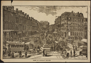 View of Scollay Square