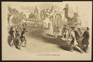 Scene from the opera of William Tell