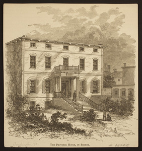 Province House, in Boston, 1848