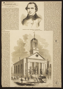 South Congregational Church, corner of Washington and Castle Street, Boston