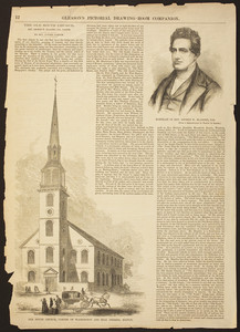 Old South Church, corner of Washington and Milk Streets, Boston