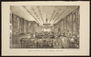 Henry Pettes & Co.'s shawl saloon