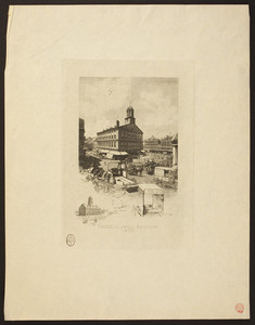 Faneuil Hall, Boston, 1870