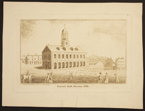 Faneuil Hall, Boston, 1776
