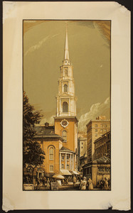 Park Street Church, Boston, Mass., 1920s
