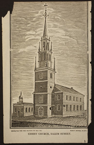Christ Church, Salem Street, Boston, Mass., 1825-1828