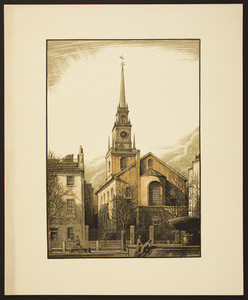 Old North Church, Boston, undated