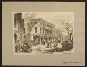 Mercantile Library, Summer Street, Boston