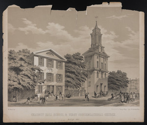 Chauncy Hall School & First Congregational Church