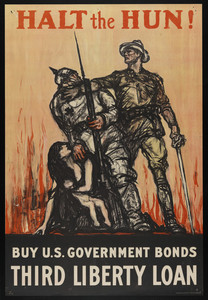 Halt the Hun--Buy U.S. Goverment Bonds