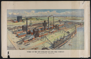 Works of the New England Gas and Coke Company, Everett, Mass.