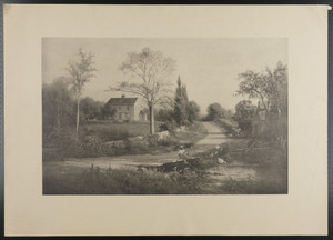 [Whittier House, Haverhill, Mass.]