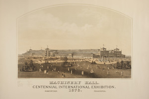 Machinery Hall, Centennial International Exhibition, 1876