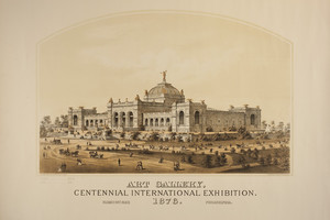 Art Gallery, Centennial International Exhibition, 1876