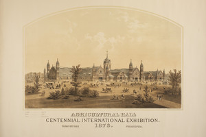 Agricultural Hall, Centennial International Exhibition, 1876