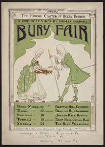 Bury Fair (a comedy in 5 acts by Thomas Shadwell)