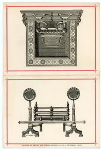Trade card for the Murdock Parlor Grate Co., grates, 21 Washington and 87 Friend Streets, Boston, Mass., undated