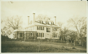Exterior view of Hamilton House, north front, South Berwick, Maine, May 30, 1901
