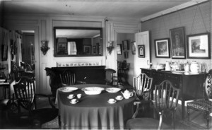 Dining room, Josiah Quincy House, Quincy, Mass.