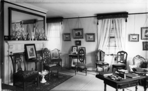 Drawing room, Josiah Quincy House, Quincy, Mass.