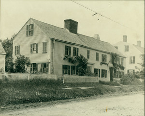 Exterior view of the Swett-Ilsley House, Newbury, Mass.