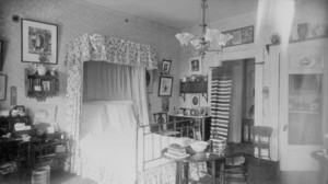 Bedroom, Frank Skinner House, 200 Beacon St., Boston, Mass., undated