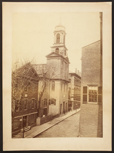 Exterior view of the First Unitarian Church, Chauncy Street