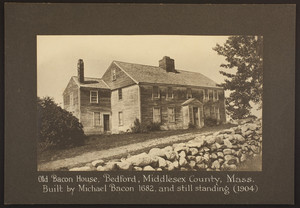 Exterior view of the Bacon house