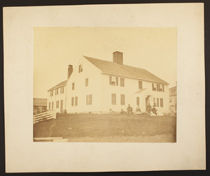 Exterior view of the Jenness House