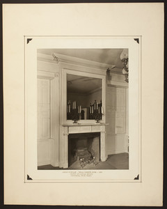 Fireplace in the Truman Beckwith House