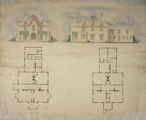 Design for a cottage for Henry C. Bowen, Esq.