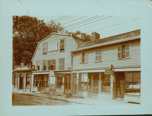 Exterior view of the Old Witch / Corwin House / Roger Williams House , North and Essex Sts., Salem