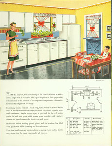 Kitchen no. 7, Kitchen Hints catalog, The Kitchen Maid Corporation, Andrews, Indiana