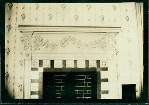 Detail of parlor fireplace carving, Wentworth-Gardner House, Portsmouth, N.H.