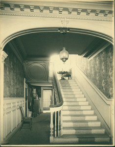 Hall, Wentworth-Gardner-Nutting, House, Mechanic & Gardner Sts., Portsmouth