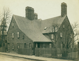 Exterior view of the House of the Seven Gables, Salem, Mass.