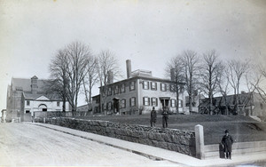 Exterior view of the Tufts House, corner of Prospect and Chelsea Sts., Charlestown