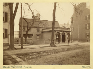 Exterior view of the Old Witch / Corwin House / Roger Williams House, North and Essex Sts., Salem