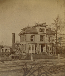 House of Louis Prang, Centre St. near Gardner St., Roxbury, Mass.