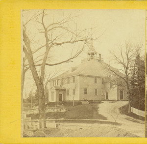 Exterior view of Old Ship Church, Hingham, Mass.