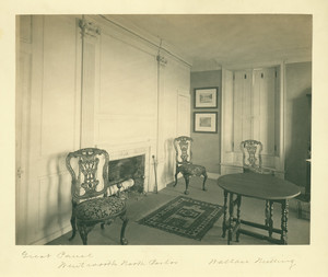 Great panel, north parlor, Wentworth-Gardner House, Portsmouth