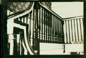 Balusters, Wentworth-Gardner House, Portsmouth, N.H.