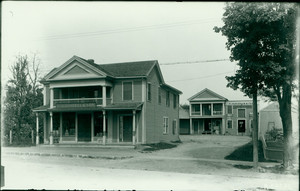 Exterior view of Boutell's Store, Shrewsbury, Mass., undated