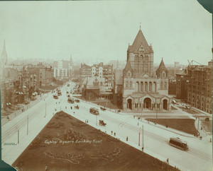 Copley Square looking east, Boston, Mass., 1907