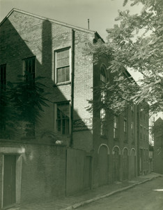 Exterior view of the African Meetinghouse, Boston, Mass., 1935