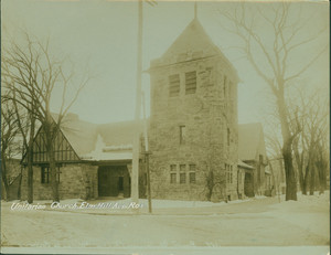 Unitarian Church, Elm Hill Ave., Roxbury, Mass., undated