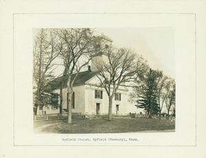 Byfield Church, Byfield (Newbury), Mass.