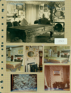 Tucker Family photograph album, interior views, page nineteen, Wiscasset, Maine, 1880-1964